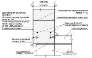 Строительство стен домов в Воронеже