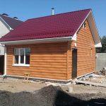 Строительство дома для дачи