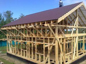 Строительство каркасного дома под ключ от 1 270 442.00 руб.