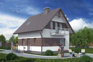 Каркасный дом по цене от 1347 322 руб.