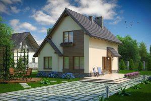 Каркасный дом «под ключ» по цене от 1 404 982,00 руб.