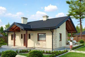 Строительство каркасного дома «под ключ» по готовому или индивидуальному проекту