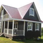 Каркасный дом в Воронеже