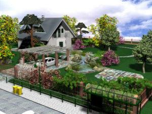 Как преобразить загородную усадьбу, дачу до неузнаваемости