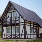 Каркасный дом под ключ по приемлемой цене
